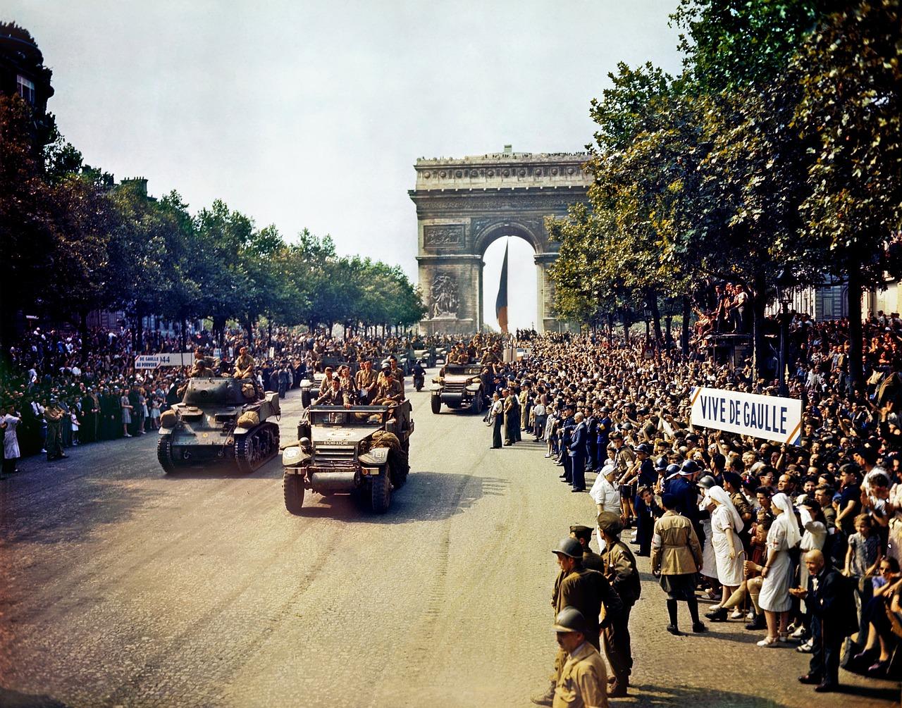 Les grands moments  qui ont marqué l'histoire de la France.